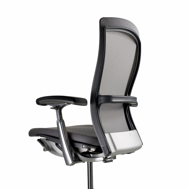 Exceptionnel KNOLL LIFE EXECUTIVE TASK CHAIR U2013 BLACK U0026 CHROME FINISH U2013 REFURBISHED U2013 VG  COND